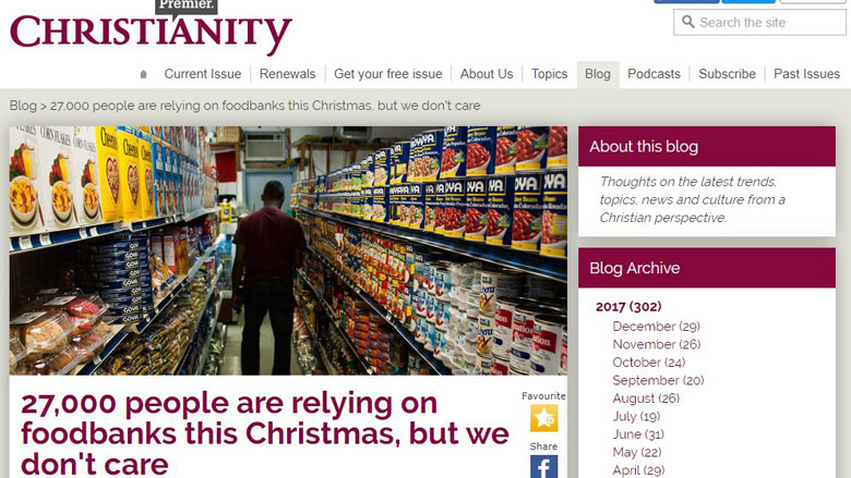27,000 need foodbanks but we don't care