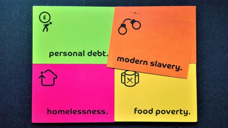 Know, pray, act: modern slavery