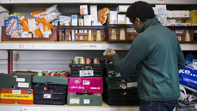 Behind the stats of food poverty