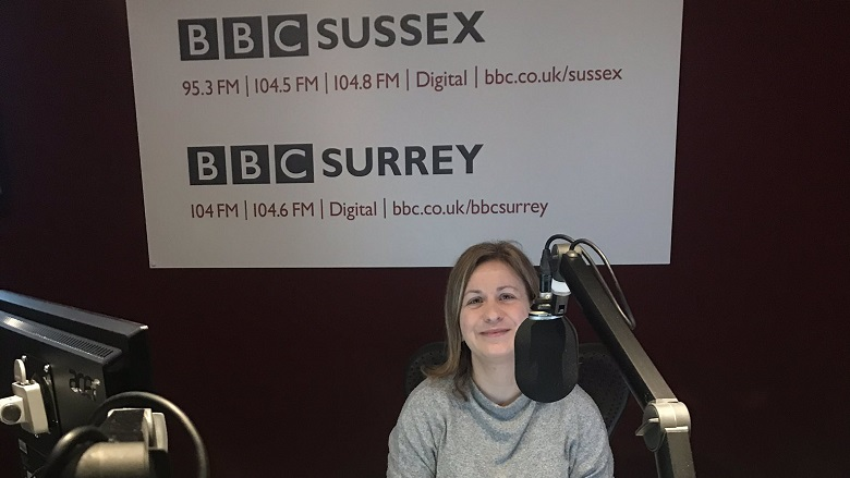 60-second sermon on BBC Radio